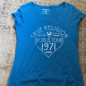 True religion tee size large